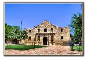The Alamo by PatriciaRodelaArtist