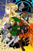 Zelda-Twilight Princess manga by fireprincess05