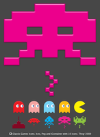 Classic Games Icons by Thvg
