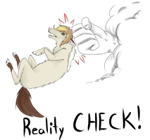 REALITY CHECK by lolcradle