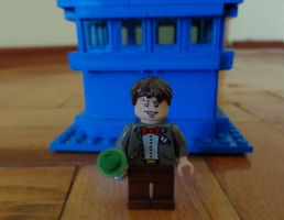 Custom Made Eleventh Doctor Lego by PCamenzind