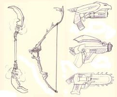 Weapons by yourfaithlost