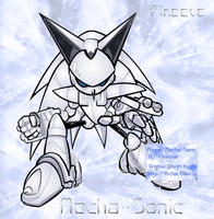 Mecha-Sonic by Fineeve by SilverAlchemist09