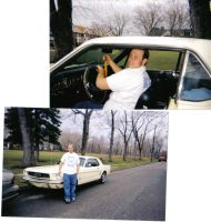 My dad and my car by bunnyboo98