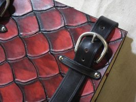Dragon Hide Codex Detail by VaporGecko