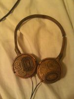 Steampunk Headphones by ThisPerfectNonsense