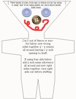 triangle lollipop doll pattern by wiccanwitchiepoo
