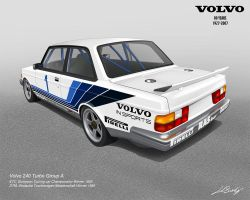 Volvo 240 Turbo Group A by LindStyling