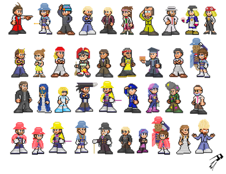 Apollo Justice Cast by eduds