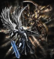 The Angel and the Demon by alcomando