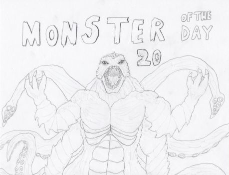 Monster of the Day 20 by gojira92