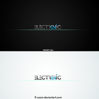 Electronic Logo 1 by R-azzor