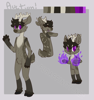 Fire Deer Design Auction [DONE] by Shlimaz