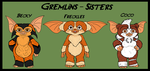 Gremlins - Sisters Fighting the world by TheCiemgeCorner