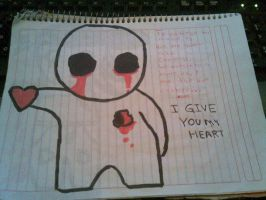 I GIVE YOU Y HEART by SHADOWDARK6662012