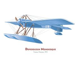 Deperdussin Monocoque by MercenaryGraphics