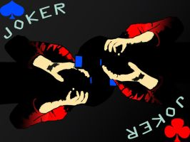 Joker playing card by EaGle1337