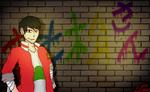 WALL (With Osomatsu) by Heart-The-Legend