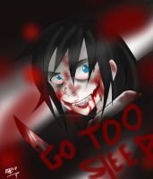 Jeff the killer -  speed paint by OpticDeviant