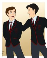 Klaine for Jasric by blindbandit5