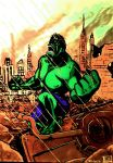 The Hulk by Nordtoemme