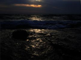 Evening on the Beach by barefootliam