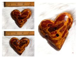 Wooden Heart by Obsidian-Asphodel