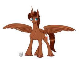 Alicorn OC -courageous-of-light- by candy-behemoth