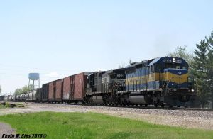 Iowa Chicago and Eastern SD40-2 6446 leads NS 32Q by EternalFlame1891