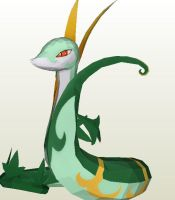serperior wip by armmm9