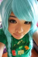 Miku Hatsune and Gummy Bears by Miss-mimiko