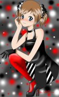 Red, black and white by Evelin-k
