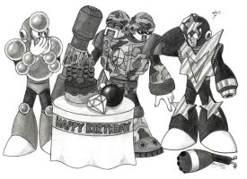 CrystalMan's Surprise B-day by SomethingSyndicated