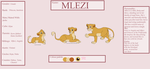 Throne of our Ancestors - Mlezi Reference Sheet by Smokestar11