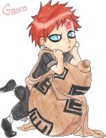 Chibi Gaara ^^ better scan by KYOLUVER17