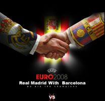 real madrid and barcelona 2008 by adobeLover