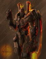 SC2 Reaper by OrionsHavoc