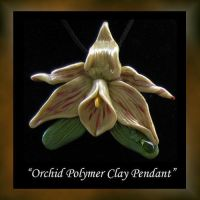 Orquidea Pendant Orchid by KabiDesigns