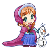Frozen: Let's build a snowman! by seika