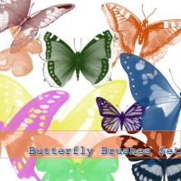 Butterflies - Stock brushes n3 by defeated-stock