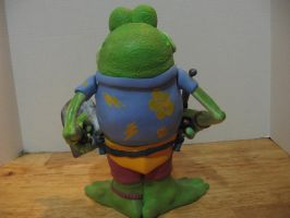 Genghis Frog Potatohead Backside by Potatoheadmaster