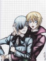 Ciel and Alois by AkaneOtaku