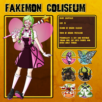 Fakemon Coliseum: Gym leader 1 - Gnatalie by MTC-Studio