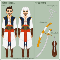 AC - Vidor Reference Sheet by porcelian-doll