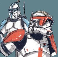 Star wars Rex and Cody by ThanhBui714