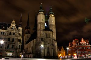 Towers  in the night by Sehbeben