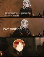 Harry Potter/Hetalia: The Science of Lovemaking by TidalWaveKitty