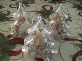 Sea Shell Winter Decorations by 3Rockstar3