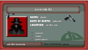 asssasin by shadethehedgehog11