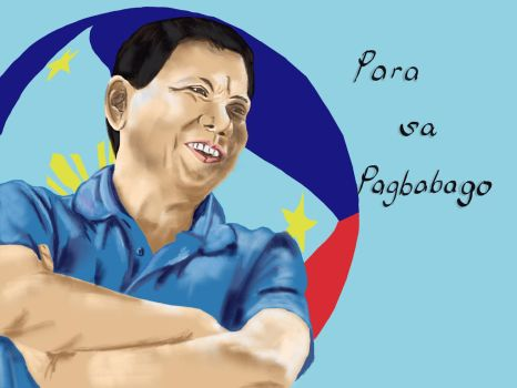 Philippines' Incoming President. by madaryl